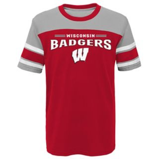 Boys 4-7 Wisconsin Badgers Loyalty Tee