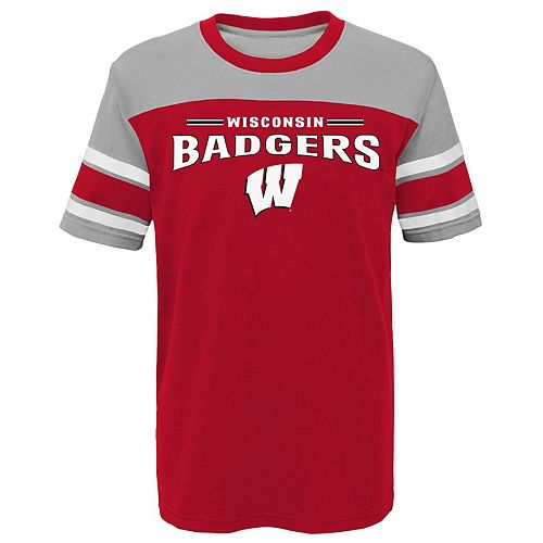 Boys 4-7 Wisconsin Badgers Loyalty Tee