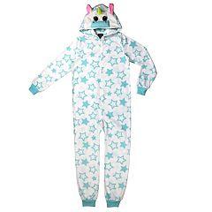 Girls 4-16 Jellifish 3D Animal One Piece Pajamas