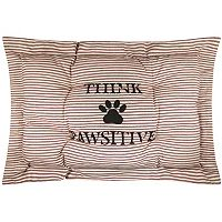 Park B. Smith Metro Farmhouse ''Pawsitive'' Nappy Pet Futon Pillow