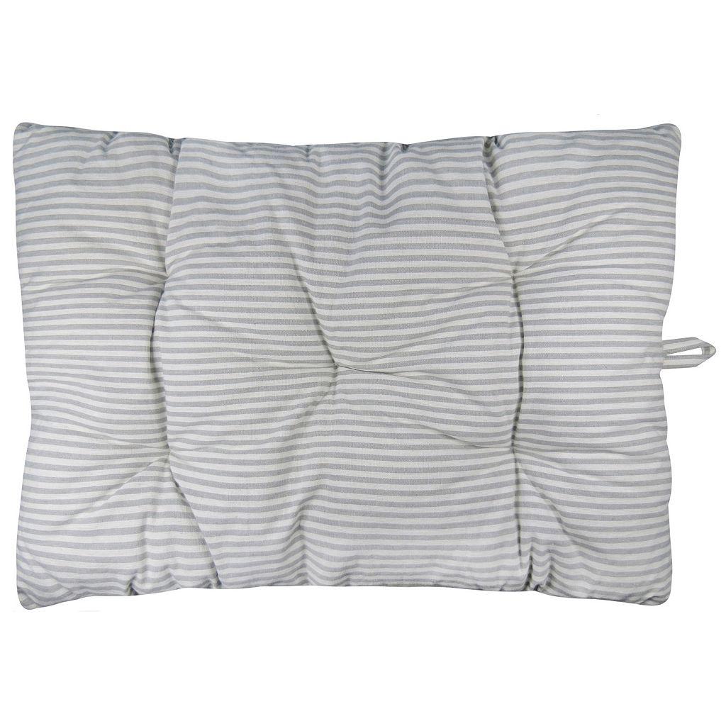 Park B. Smith Metro Farmhouse Ticking Stripe Nappy Pet Futon Pillow