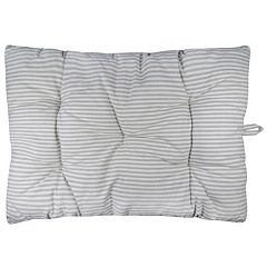 Park B. Smith Metro Farmhouse Ticking Stripe Nappy Pet Futon Pillow