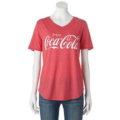 Juniors' 'Enjoy Coca-Cola' Graphic Tee