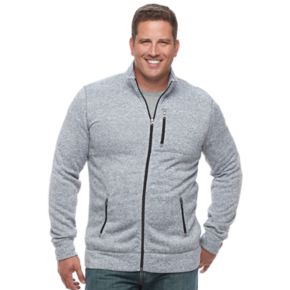 Big & Tall SONOMA Goods for Life™ Full-Zip Fleece Jacket