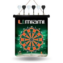 Miami Hurricanes Magnetic Dart Board