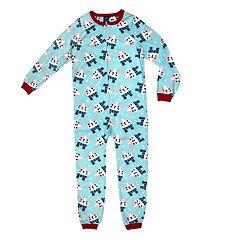 8d85d7fb0448 Girls Blue Kids One-Piece Pajamas - Sleepwear