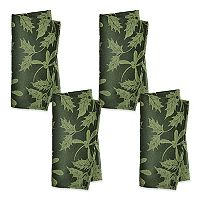 The Big One® Green Holly Napkin 4-pk.