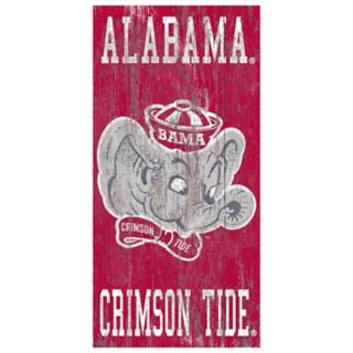 Alabama Crimson Tide Heritage Logo Wall Sign