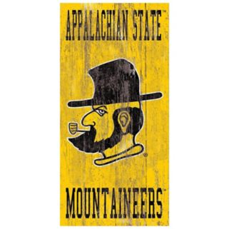 Appalachian State Mountaineers Heritage Logo Wall Sign