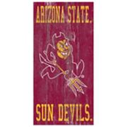 Arizona State Sun Devils Heritage Logo Wall Sign