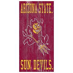 Arizona State Sun Devils Heritage Logo Wall Sign