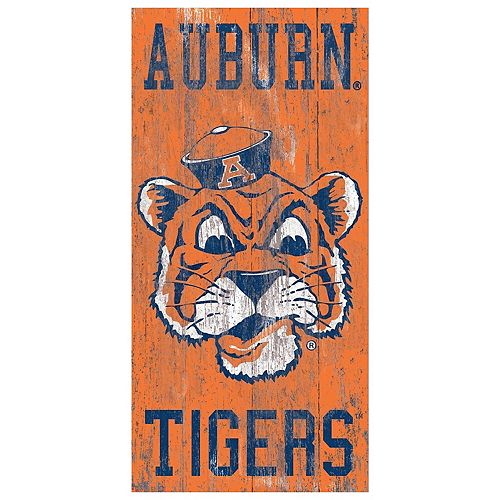 Auburn Tigers Heritage Logo Wall Sign