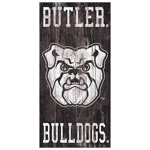 Butler Bulldogs Heritage Logo Wall Sign