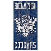 BYU Cougars Heritage Logo Wall Sign
