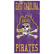 East Carolina Pirates Heritage Logo Wall Sign