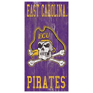 East Carolina Pirates Heritage Logo Wall Sign