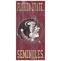 Florida State Seminoles Heritage Logo Wall Sign