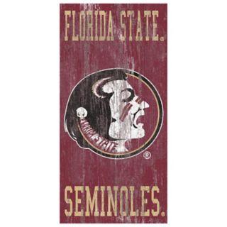 Florida State Seminoles Heritage Logo Wall Sign
