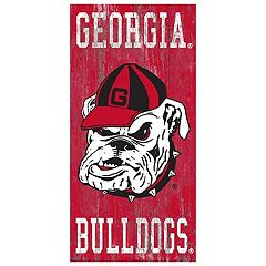Georgia Bulldogs Heritage Logo Wall Sign