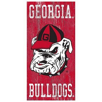 Georgia Bulldogs Heritage Logo Wall Sign