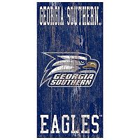 Georgia Southern Eagles Heritage Logo Wall Sign