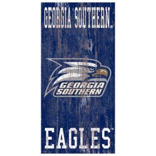 Georgia Southern Eagles Heritage Logo Wall Sign