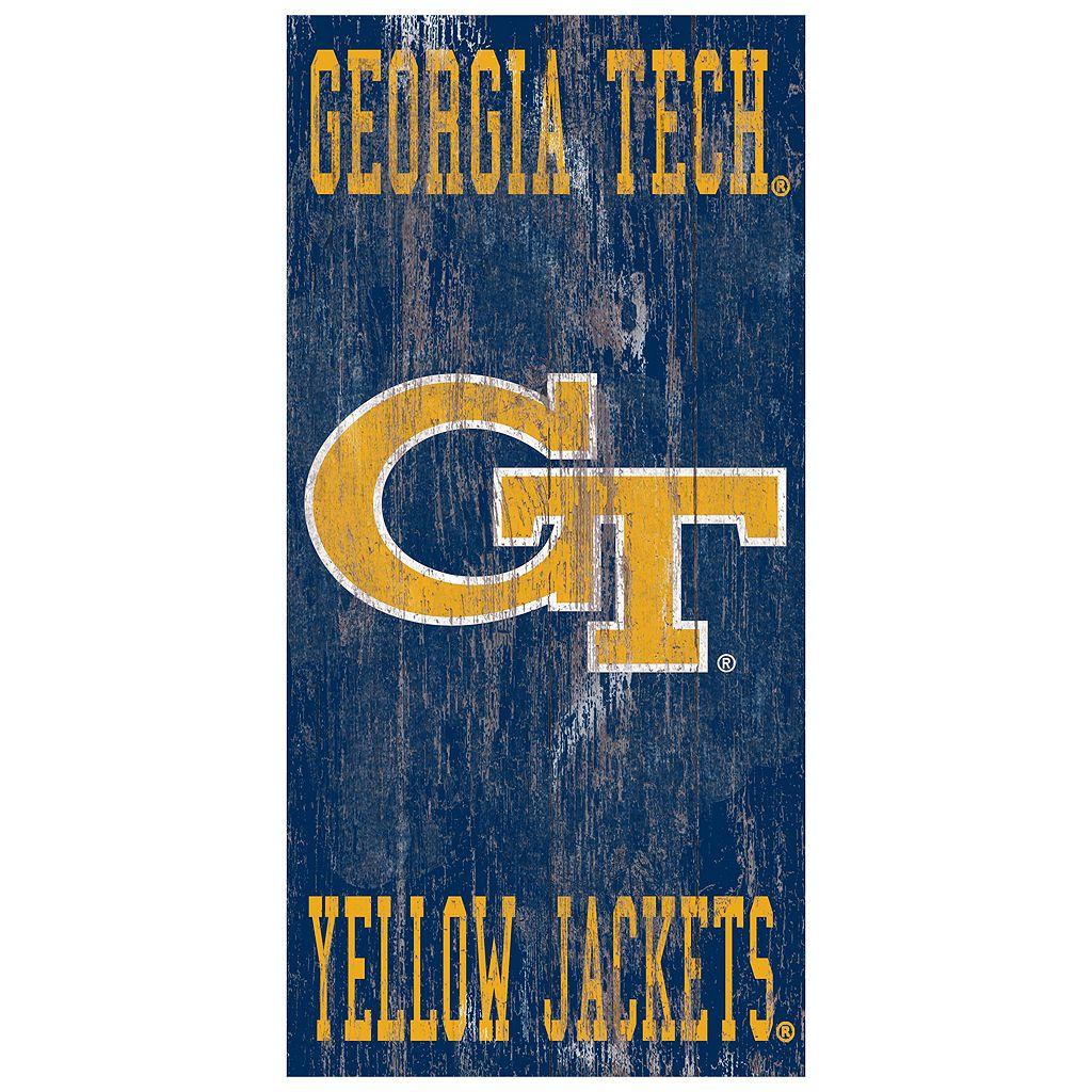 Georgia Tech Yellow Jackets Heritage Logo Wall Sign