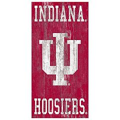 Indiana Hoosiers Heritage Logo Wall Sign