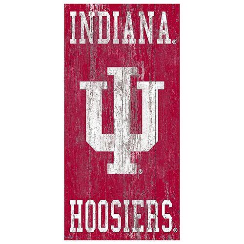 Indiana Hoosiers Heritage Logo Wall Sign