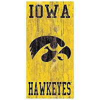 Iowa Hawkeyes Heritage Logo Wall Sign