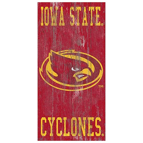 Iowa State Cyclones Heritage Logo Wall Sign