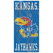 Kansas Jayhawks Heritage Logo Wall Sign