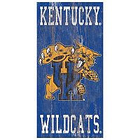 Kentucky Wildcats Heritage Logo Wall Sign