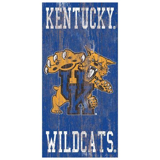 Kentucky Wildcats Heritage Logo Wall Sign