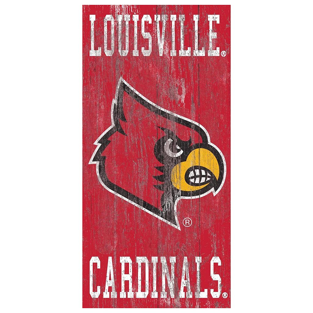 Louisville Cardinals Heritage Logo Wall Sign