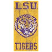 LSU Tigers Heritage Logo Wall Sign