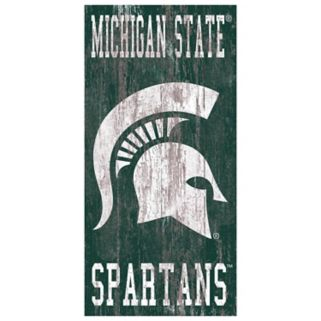 Michigan State Spartans Heritage Logo Wall Sign
