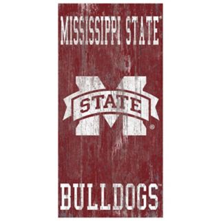 Mississippi State Bulldogs Heritage Logo Wall Sign
