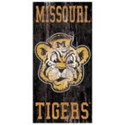 Missouri Tigers Heritage Logo Wall Sign