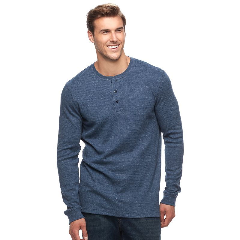 88452059e6 Big & Tall SONOMA Goods for Life™ Performance Thermal Henley, Men's, Size:
