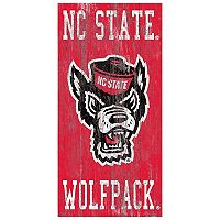 North Carolina State Wolfpack Heritage Logo Wall Sign