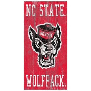 North Carolina State Wolfpack Heritage Logo Wall Sign