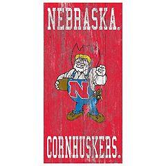 Nebraska Cornhuskers Heritage Logo Wall Sign