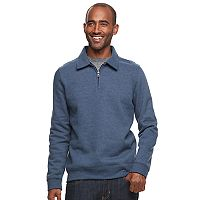 Men's Croft & Barrow® Classic-Fit Stretch Fleece Quarter-Zip Pullover