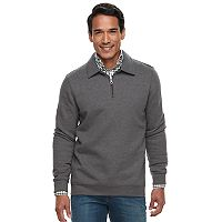 Men's Croft & Barrow® Classic-Fit Easy-Care Fleece Quarter-Zip Pullover