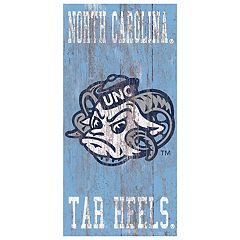 North Carolina Tar Heels Heritage Logo Wall Sign
