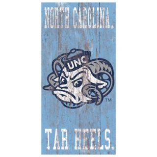 North Carolina Tar Heels Heritage Logo Wall Sign