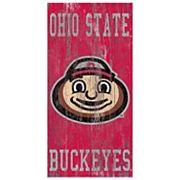 Ohio State Buckeyes Heritage Logo Wall Sign