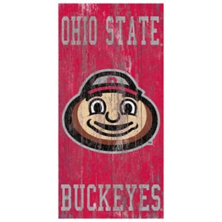 Ohio State Buckeyes Heritage Logo Wall Sign