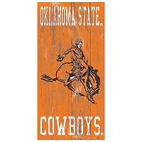 Oklahoma State Cowboys Heritage Logo Wall Sign